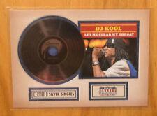 DJ Kool 2015 Panini Americana Silver Singles Let Me Clear My Throat Insert #6