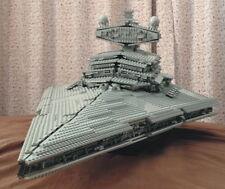 Brand New Sealed CUSTOM Star Wars Imperial Star Destroyer 10030 + Plaque Sticker