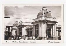 RPPC,Guantanamo,Cuba,Mercado,Caribbean.c,1940-50s