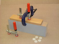 Edge Lipping 3 Way clamps x 4 for kitchen worktop/Corian/ Solid Surface