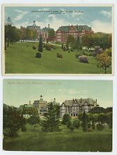 Lot of 2! Alms House in LANCASTER PA Vintage County Pennsylvania Postcards 2