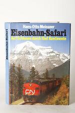 TRAIN Livre :eisenbahn-safari - sur rails en cas de cinq continents (81603)