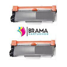 2 X Toner compatible CON BROTHER TN2320 MFC-L2740DW  , DCP-L2500D  Tn2310