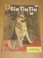 RIN TIN TIN #10 VG (4.0) DELL COMICS SEPTEMBER 1955 COVER A