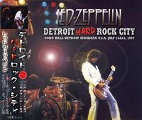 LED ZEPPELIN / 1973 DETROIT HARD ROCK CITY 3CD Japanese free shipping