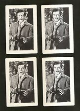 1951 MGM Movie THE GREAT CARUSO~4 cards~MARIO LANZA ~ NM-MINT CONDITION