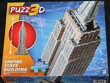 Empire State Building Puzz3D Foam Backed Puzzle 300 pc Intermediate new in box