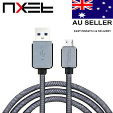 NXET Nylon Braided USB Data Charger Charging Cable Lead for Sony Seires