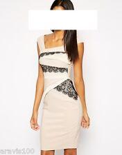 Designer Kleid Lipsy Größe 42  Spitze  NEU