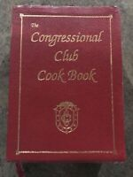 Congressional Club Cookbook (Affiliated Graphics, 1993, Leather Bound)