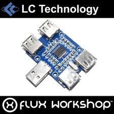 LC Technology 4 Channel USB 2.0 Hub GL850G Raspberry Pi Windows Flux Workshop