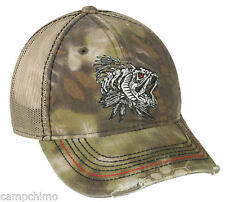CAP - FISH BONZ KRYPTEK™ HIGHLANDER CAMO MESH BACK HUNTING HAT BON-013
