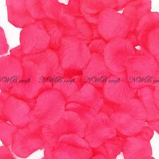 100-1000 Fuchsia Rose Petals Engagement Wedding Celebration Table Aisle Décor