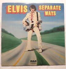 Elvis Presley . Separate Ways . 1973 Rca / Camden Lp Vg Stereo Always On My Mind