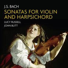 J.S. Bach / Butt / R - Sonatas for Violin & Harpsichord [New CD]