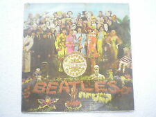 THE BEATLES SGT PEPPERS LONELY HEARTS CLUB PARLOPHONE STEREO LP INDIA 222 EX