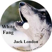 White Fang, Jack London Audiobook unabridged Fiction English on 1 MP3 CD