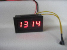 12v Digital Clock with Memory Battery Caravan Boat Car VW Day Camper Van 4x4 RV