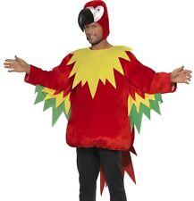 luxe adulte hommes PERROQUET COSTUME DÉGUISEMENT Oiseau Costume par SMIFFYS NEUF