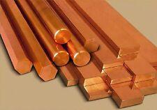 "Copper Flat Bar - 1/2"" x 4"" x 6""  (5O2)"