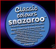 SNAZAROO 50 FACE PAINT 18ML POT SKY BLUE