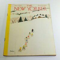 The New Yorker: January 27 1962 Full Magazine/Theme Cover Susanne Suba