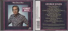 GEORGE JONES Wine Colored Roses 1986 Epic CD Out of Print 80s Country