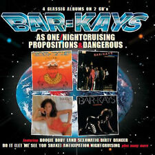 Bar-kays - As One/Nightcruising/Propositiojs/Dangerous     2-cd