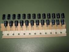 25x Elko Rubycon YXF 100µF/35V 105°C 8x11,5mm 7000h Low Impedance LongLife 100uF