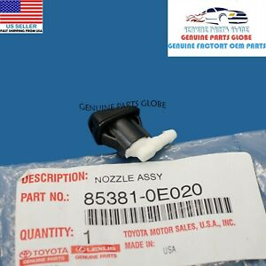 GENUINE LEXUS 04-09 RX330 RX350 RX400 FRONT WINDSHIELD WASHER NOZZLE 85381-0E020