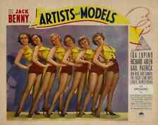 Artists and Models 1937 03 Film A2 Box Canvas
