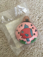 Animation Art & Characters Legend Of Zelda Ocarina From John Coiner Pottery Studio Handmade W/ Songbook