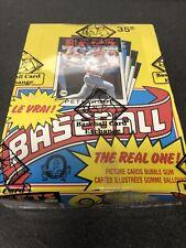 1986 OPC O-PEE-CHEE Baseball Full Box 36 Sealed Wax Packs BBCE Wrapped