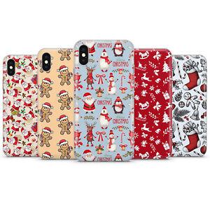 Merry Christmas Phone Cases Xmas Bad Santa Covers Deer Elf for iPhone X, 8, 12
