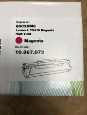 Lyreco Compatible Toner Cartridge For Lexemark CX 410/510 - Magenta 80C2HMO