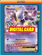 Mewtwo EX 52/108 for Pokemon TCG Online (PTCGO, Digital Card)