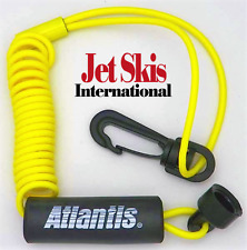 SeaDoo Clip-on Non DESS High-Vis Yellow Lanyard Safety Tether Key New Floating