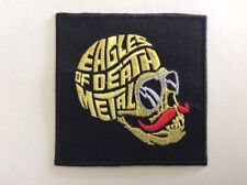 M291 // ECUSSON PATCH AUFNAHER TOPPA / NEUF / EAGLES OF DEATH METAL 8*8 CM