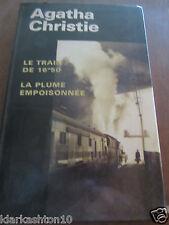 Agatha Christie: le train de 16h50, la plume empoisonnée/ France Loisirs