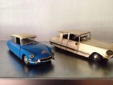 CITROEN  DS 19 Rallye Solido 1/18 & Blech DS