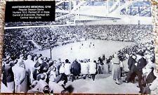 HUNTINGBURG INDIANA GYM POSTCARD 1953 - #1 HUNTINGBURG v #5 EVANSVILLE CENTRAL
