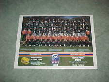 1984 Chicago Bears NFL Football Team Photo Poster with Walter Payton