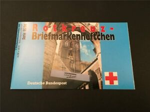 GERMANY BOOKLET 1995 RED CROSS CROIX ROUGE ROTES KREUZ h4957