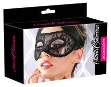 2480271 Maschera del Mistero Rigida Venezia Style Nera Decorata Pizzo Floreale