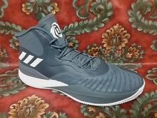 ADIDAS - CQ1620 - D. DOSE - DERRICK ROSE - Men's Shoes - GRAY WHITE - Size 15