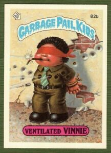 1985 GPK Garbage Pail Kids Series 2 Ventilated Vinnie 82b Phony Award