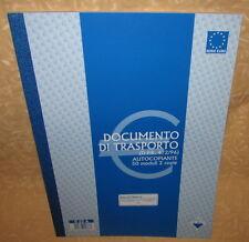 DOCUMENTO DI TRASPORTO DDT AUTOCOPIANTI 50 MODULI 2 COPIE S.C.I.A 522A cod.11341