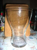 """Large Wide Mouth Tulip Shaped Clear Glass Vase """"Design By Asa Grey""""Jellybean Jar"""