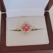 Unbranded Natural Not Enhanced Ruby Fine Rings