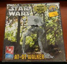 I248 Star Wars Model Kit AT-ST Walker AMT ERTL 38302 Sealed Movie Print Included